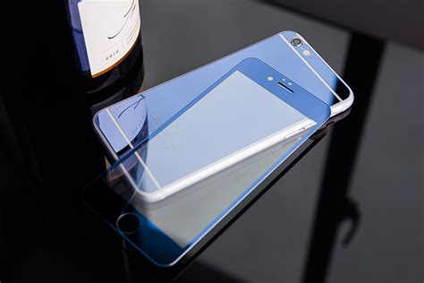 Op4633 For Iphone 6 6s New Luxury Mirror Silikon With F Kode Bi 6 tempered glass 6 6s 6 colors new luxury front back mirror
