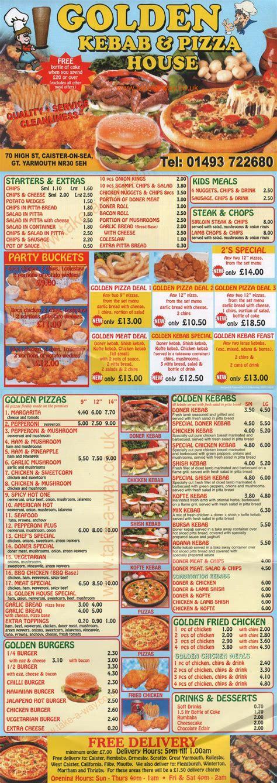 pizza house menu golden kebab pizza house menu