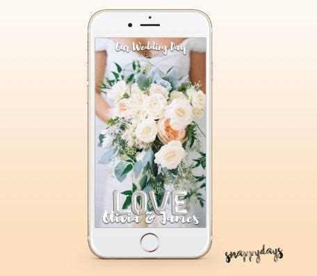 13 best Wedding Snapchat Filters images on Pinterest