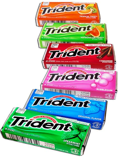 friday freebie score a free pack of trident gum