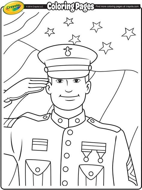 printable coloring pages veterans day discover and save creative ideas