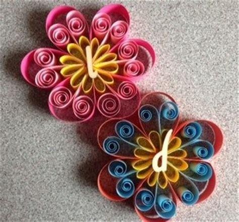 fiori con cartoncino segnaposto decorazione fiore realizzata con tecnica