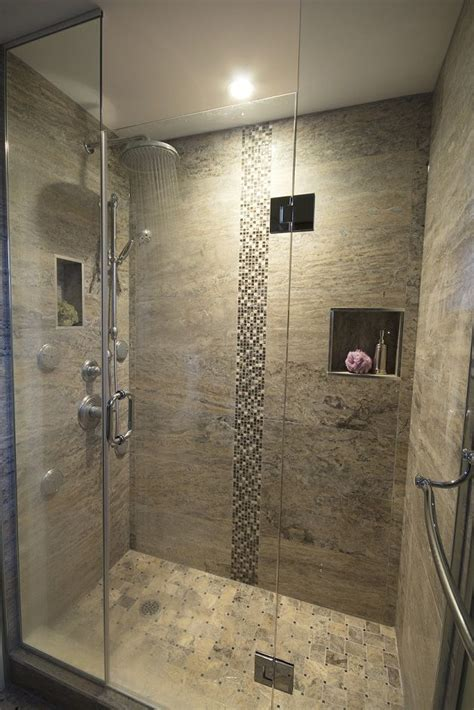 bathroom with standup shower stand up shower rain shower head spa master bath