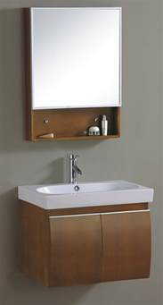 china wall mounted fashion wooden bathroom vanity cabinet