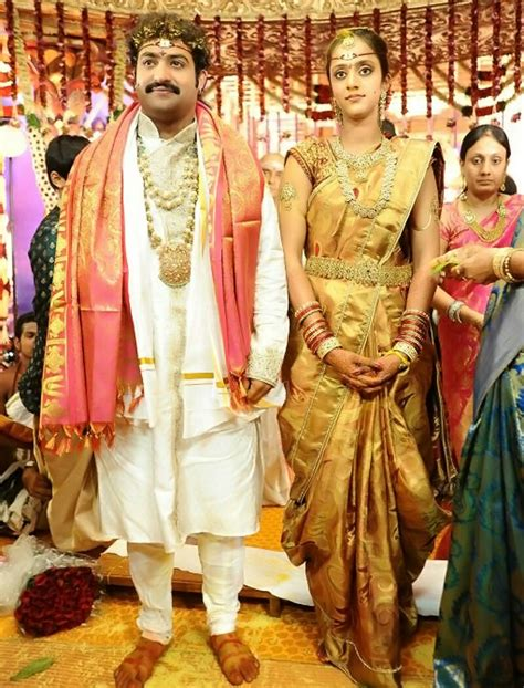 Marriage Photos Of by Jr Ntr N T Rama Rao Junior Family And Marriage And