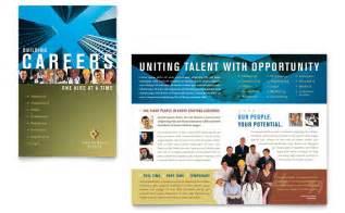 recruiting brochure template employment agency fair brochure template design