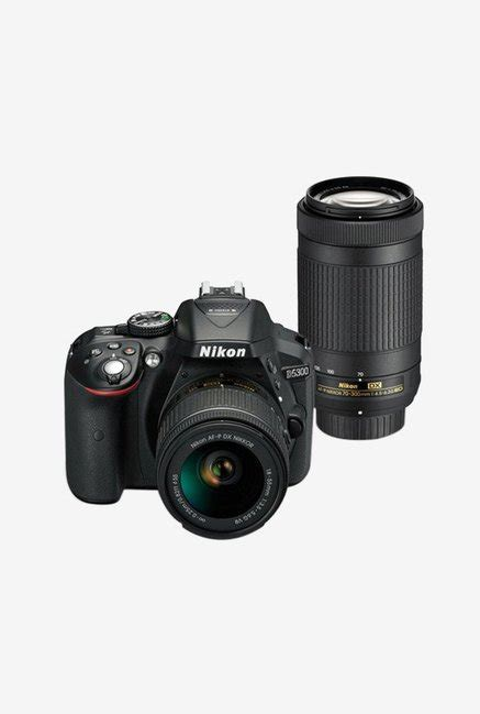 nikon d5300 price nikon d5300 with af p 18 55mm vr 70 300mm vr lens dslr