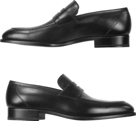 fratelli rossetti loafers fratelli rossetti black calf leather loafer shoes in