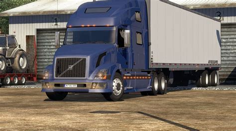 volvo america volvo vnl 780 on american truck simulator american truck