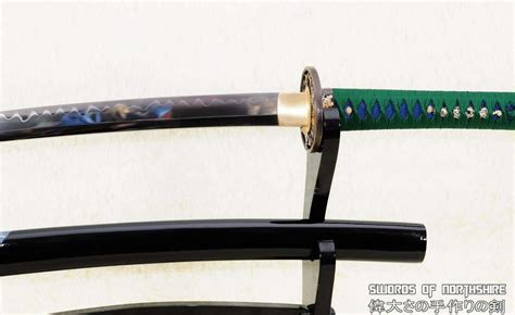 1095 carbon steel 1095 high carbon steel clay tempered wakizashi with rayskin wrapped saya