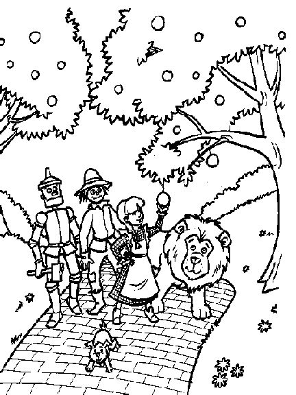 wizard of oz coloring pages for kids coloringpagesabc com