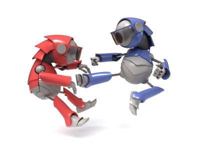 Fighting Talk Let The Battle Begin by Fighting Robots Let The Battle Begin European