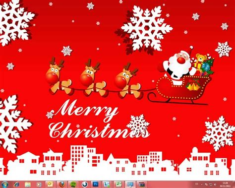 Themes Christmas Free Download | download windows 7 christmas theme free