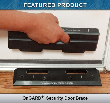 Ongard Security Door Brace by Home Security Products By Ongard Home Prevention