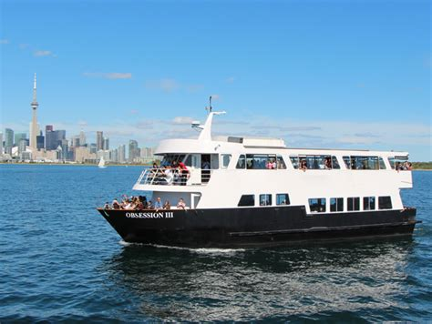 dinner on a boat toronto obsession iii 190 guests toronto dinner cruises boat