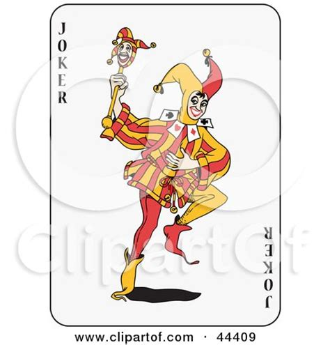 printable joker card happy mardi gras jester girl sitting with her arms over