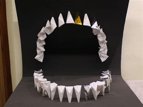 Origami Teeth - s instruire avec les dents etienne cliquet