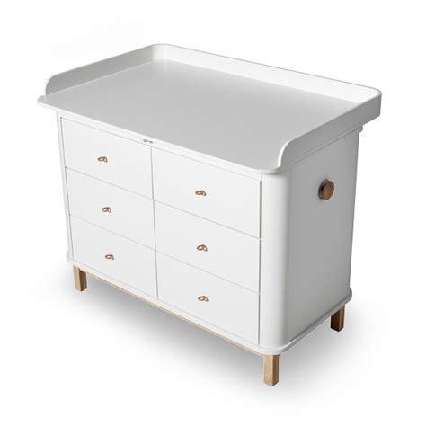 cassettiere fasciatoio ikea cassettiera wood con fasciatoio grande by oliver furniture