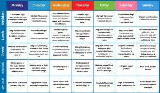 banting diet 7 day banting meal plan healthy food choices