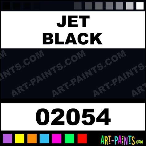 jet black base colors airbrush spray paints 02054 jet black paint jet black color sem base