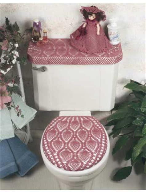 free crochet bathroom patterns crochet general decor pineapple bathroom ensemble