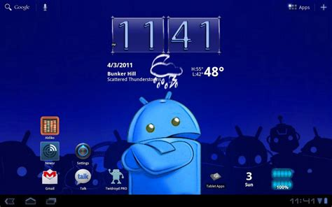 tablet widgets beautiful widgets tablet beta hands on android central