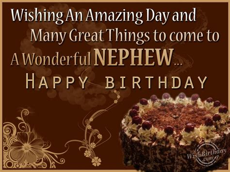 Happy Birthday To Our Quotes Birthday Wishes For Nephew Birthday Images Pictures
