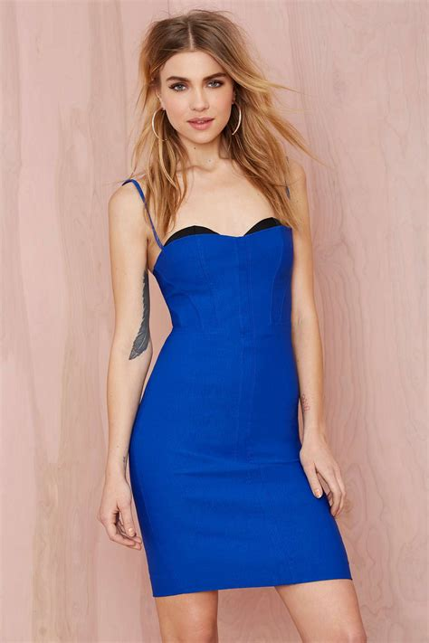 who is the gal in the blue dress in the viagra commercial nasty gal sensation corset dress cobalt blue in blue lyst