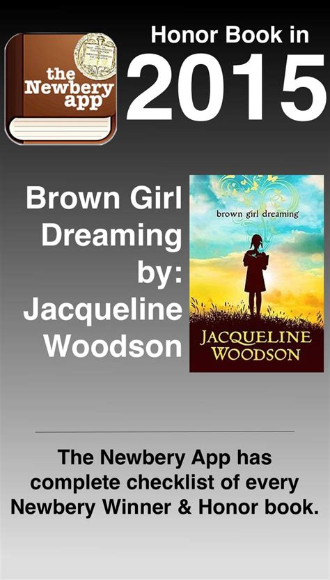 themes in brown girl dreaming 1000 images about the newbery app on pinterest