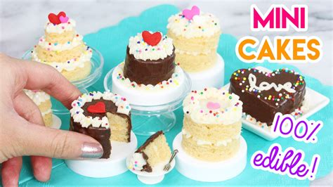miniature cakes how to make mini cakes in an easy bake oven
