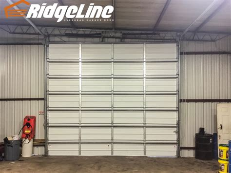 overhead door non insulated ridgeline overhead garage door