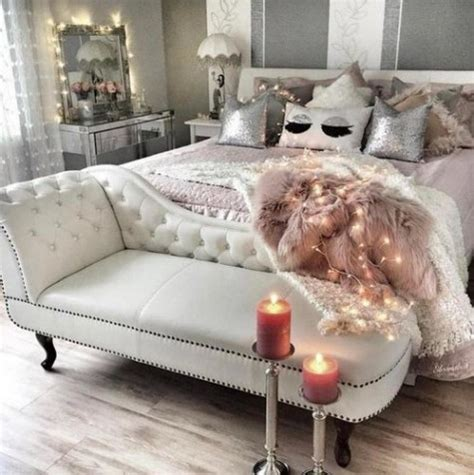 Faux Fur Home Decor 25 swoon worthy glam bedrooms comfydwelling com