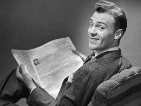 Guy Reading Book Meme - 50 s newspaper blank template imgflip