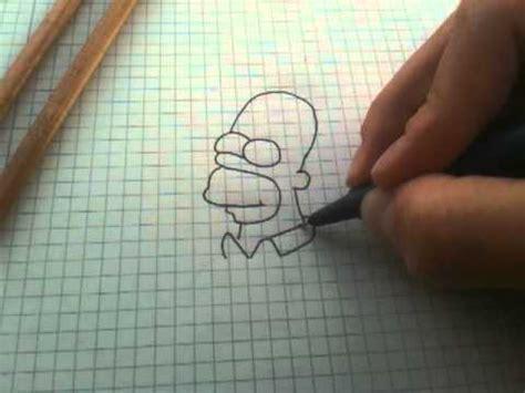 Leichte Sachen Zum Malen by Anleitung Homer Die Simpsons Zeichnen Homer