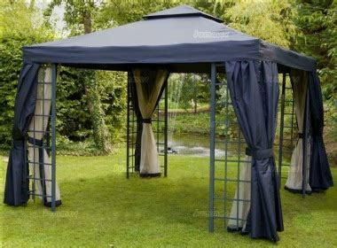 gazebo with curtains and nets metal gazebo 102 hipped roof trellis nets curtains