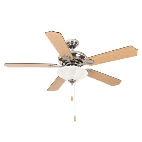 home decor ceiling fans yosemite home decor whitney 52 in satin nickel ceiling