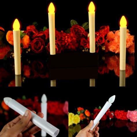candele al led fergie rossa pk green candele sottili a batteria con luce