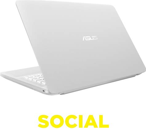 Laptop Asus X43e White asus vivobook max x441 14 quot laptop white deals pc world