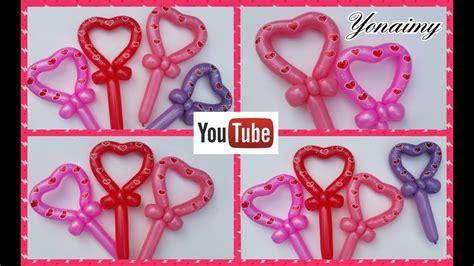corazones romanticos youtube corazones romanticos con un solo globo 260 youtube