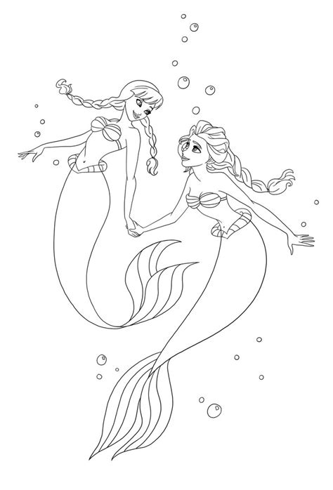 coloring page of elsa and anna elsa and anna drawing new calendar template site