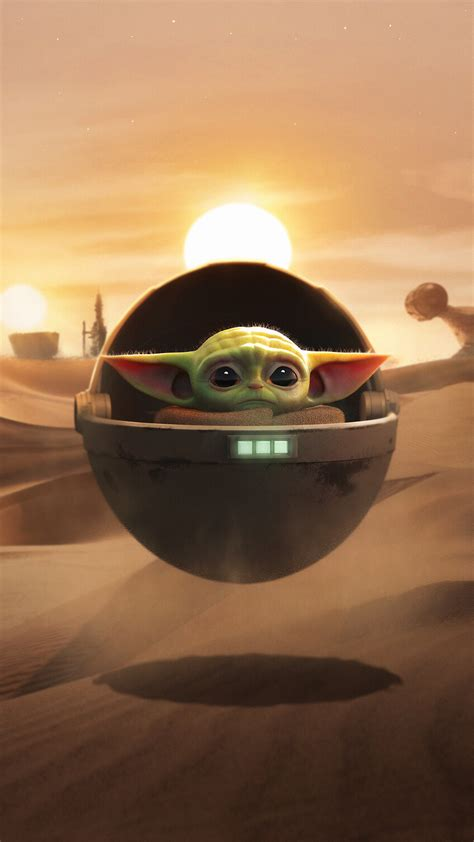 child baby yoda background wallpapers