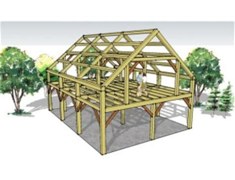 pre designed timber frame packages