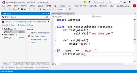 python unit testing python tutorial scott hanselman s blog scott hanselman on programming