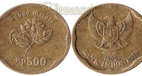 Uang 500 Rupiah Bunga Melati 1991 misteri uang logam 500 rupiah tahun 1991 yang diklaim