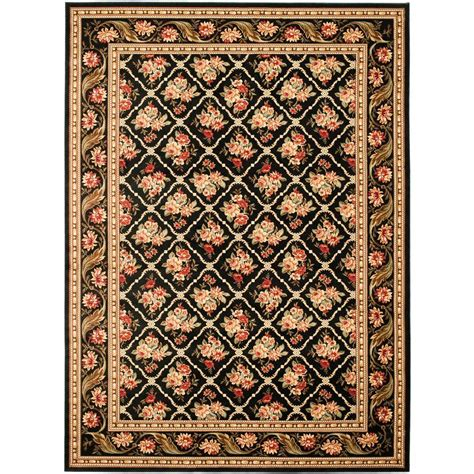 8 X 12 Area Rug Safavieh Lyndhurst Black 8 Ft 9 In X 12 Ft Area Rug Lnh556 9090 9 The Home Depot