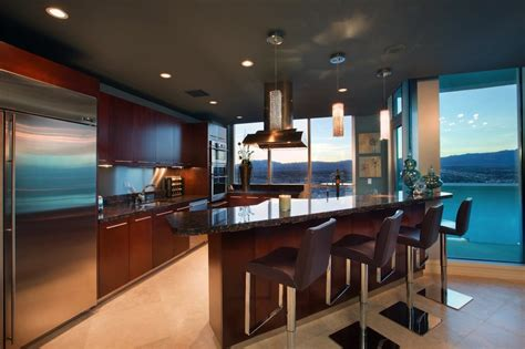 Colors For Bedrooms 2013 luxury penthouse a high rise apartment in las vegas