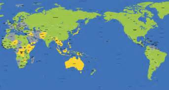 Australia Map Of The World by Australian World Map Www Imgarcade Com Online Image