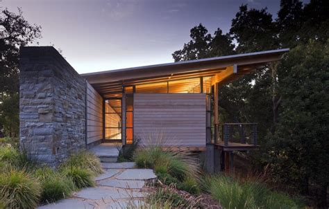 Hip Roof Barn by Gallery Of Halls Ridge Knoll Guest House Bohlin Cywinski