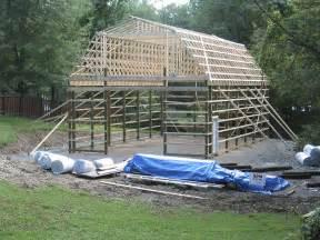 gambrel roof pole barn kits