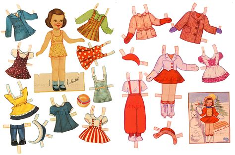 printable vintage paper dolls vintage paper dolls printable www pixshark com images